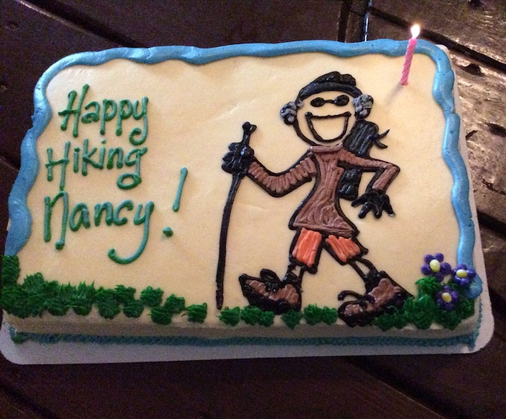 Picture of Nancy's cake.