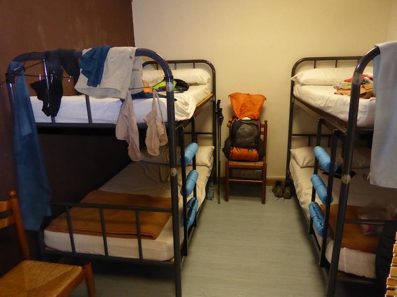 I got the last bunk bed.