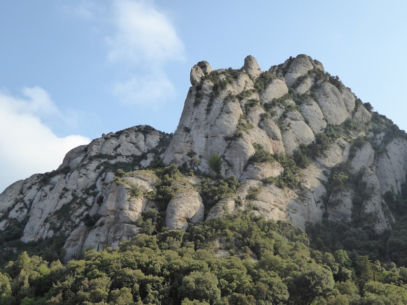 This is Monserrat, the mountain.