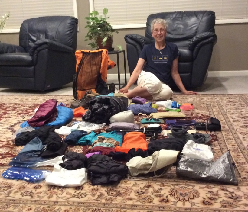 Packing Gear with Nancy