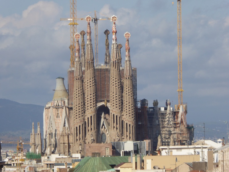 Sagrada Familia is beautiful