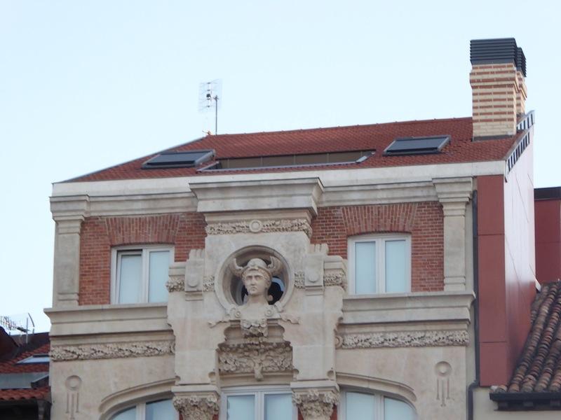 A building in Burgos.