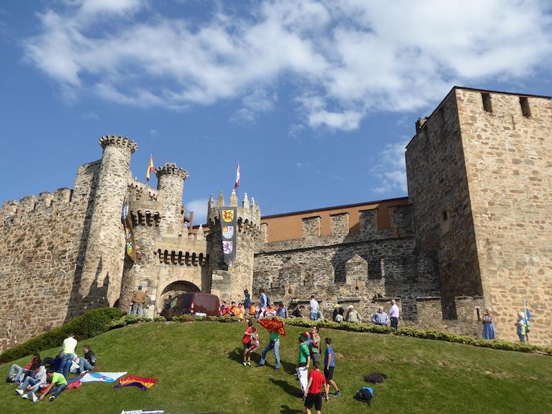 A castle in Proferrado