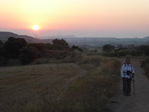 Another beautiful sunrise near Ventosa.