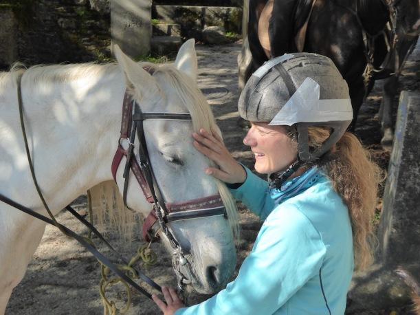 Eva and Horse