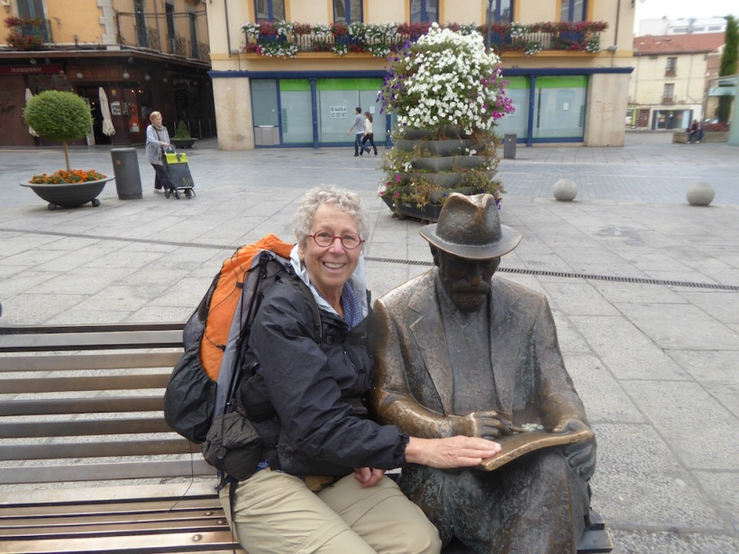 Leon Sculpture with Nancy