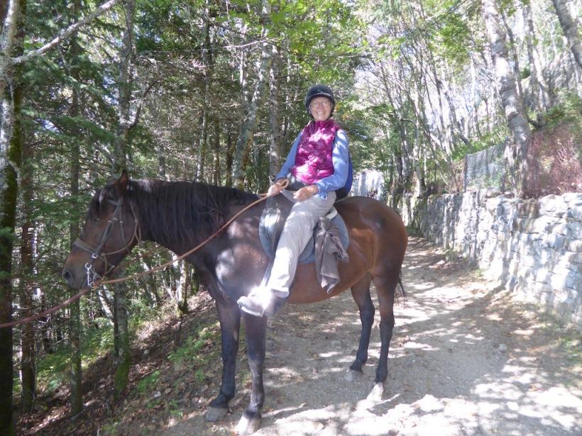 Nancy on Horse