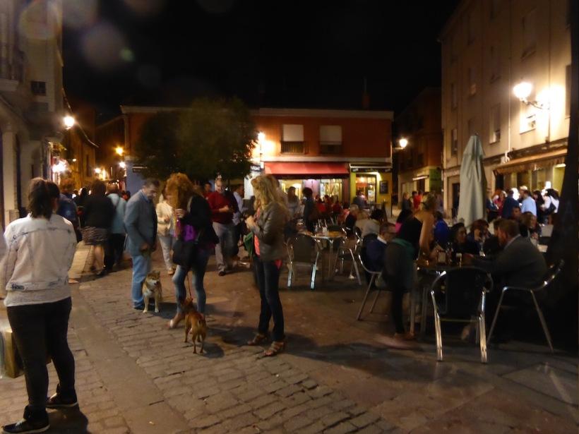 Nighttime in Leon