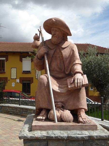 I love the pilgrim sculptures.