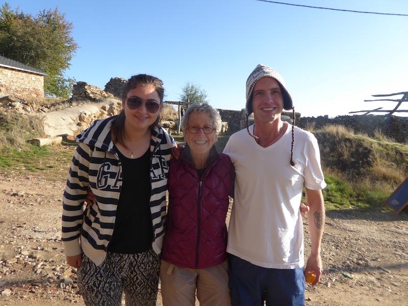 Friends with Nancy in Foncebadon were wonderful.