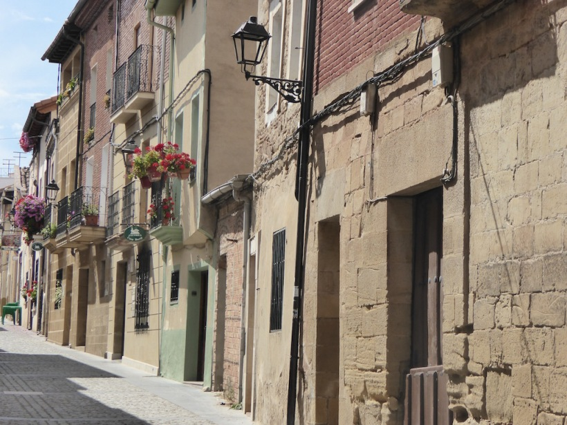 The streets of Santa Domingo de Calzada.