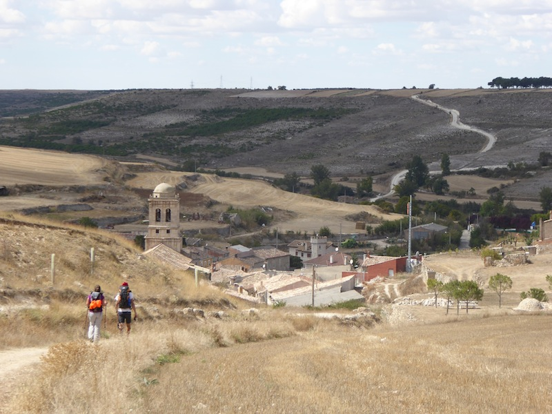 I loved walking through the meseta.