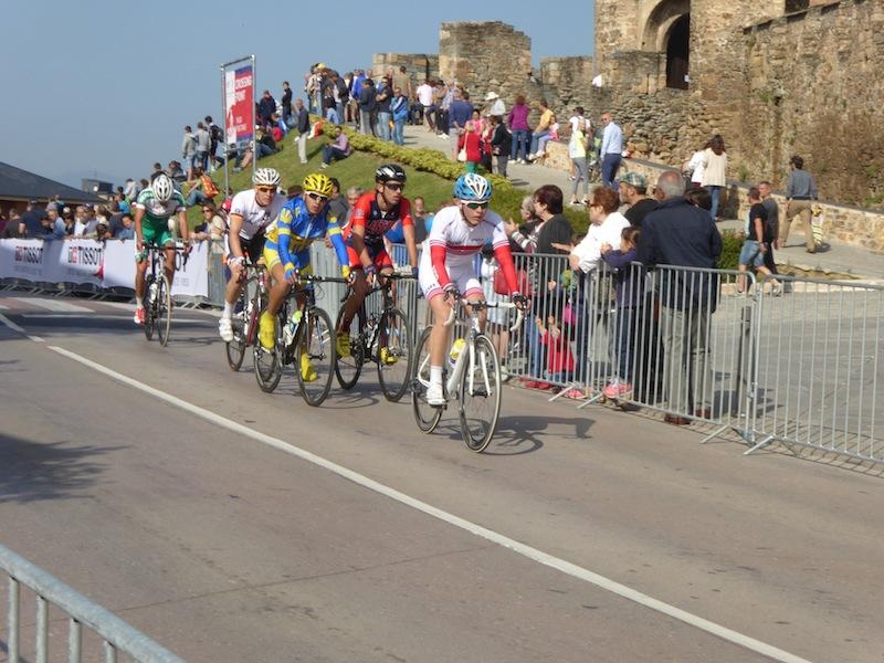 We saw the World Bike Race in Proferrado.