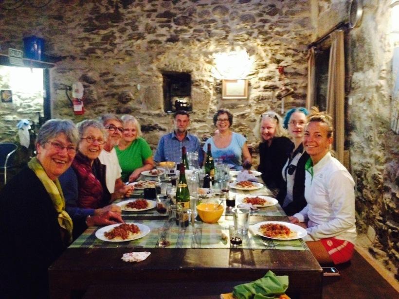 Dinner in Vilcha