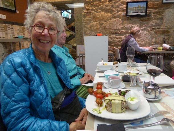 I loved eating at Malak in Santiago de Compostela