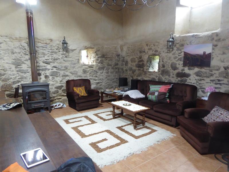 Casa Bandera had a comfortable livingroom.