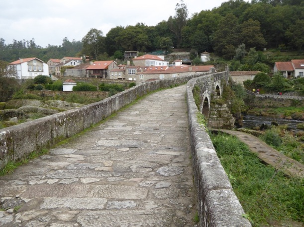 A Medieval bridge in Ponte Maceira