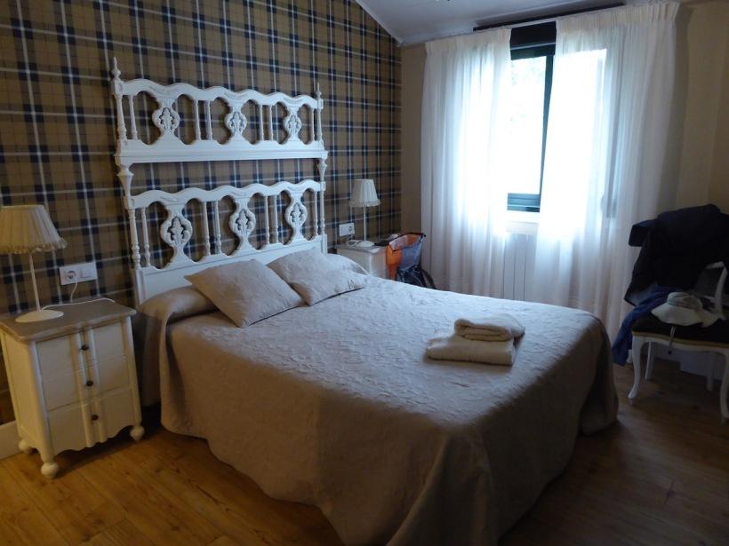 Rose's and Nancy's room in Castañeda.