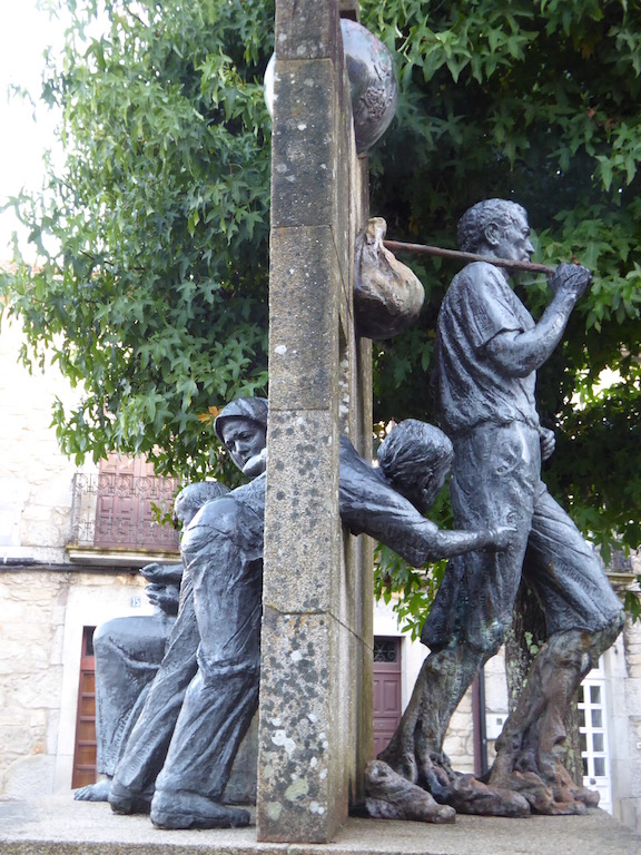 Sculpture in Negreira 2