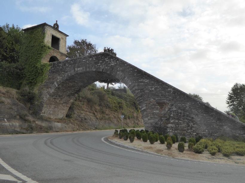 Stairs into Palas de Rei