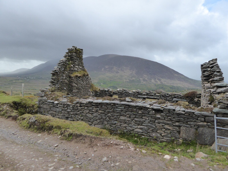 Some of the stone houses were deacon.