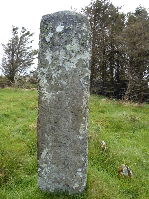 An Ogham Stone.