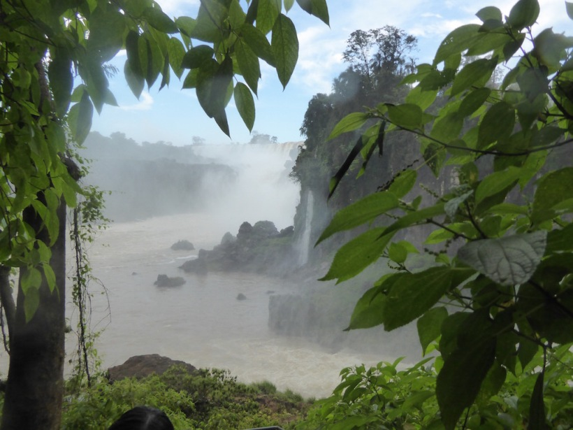 Here is another view of Iguazú Falls.