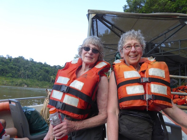Ann and Nancy were excited about the Great Adventure.