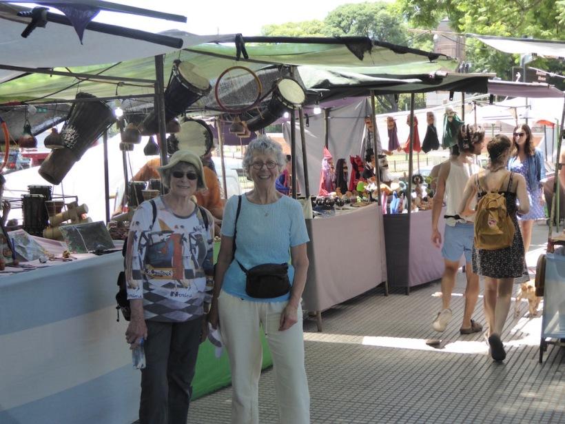 Ann and I visited the Ricoleta Market
