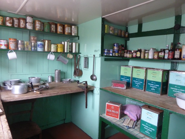 Original food stored at Port Lockroy.