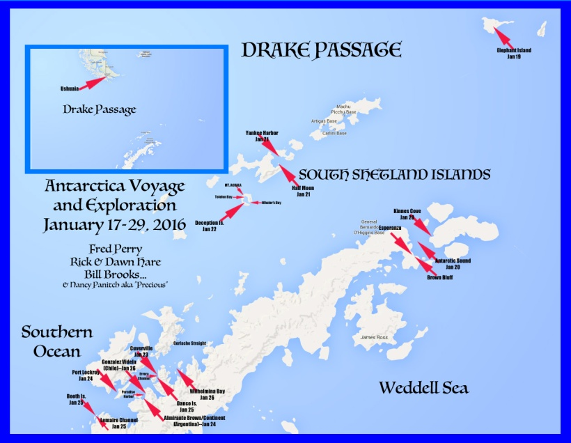 This is a map of our landings.