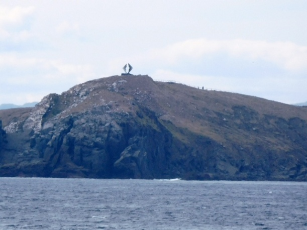 This is the sculpture on the top of Cape Horn