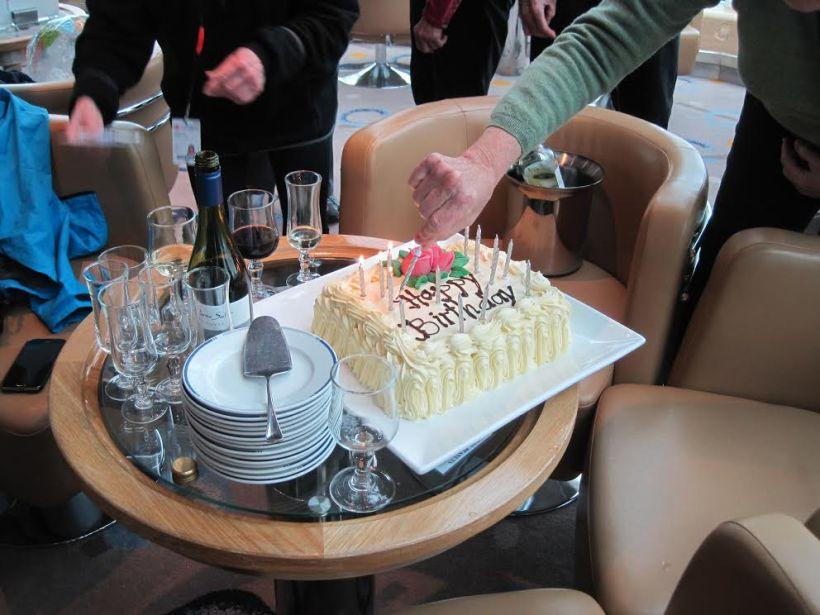 This is Heidi's Birthday cake.