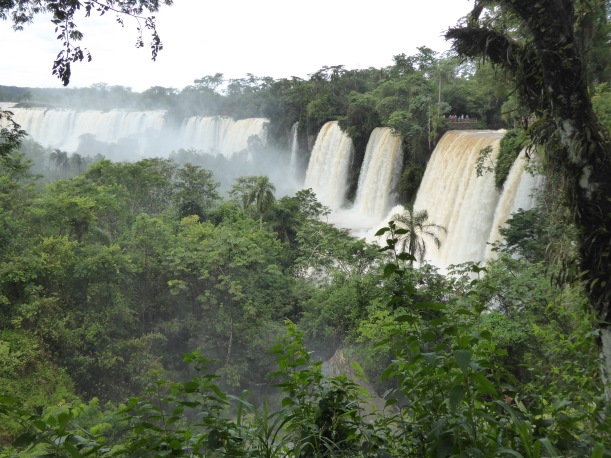 We could see Iguazú Falls all the way to Brazil