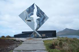This is the monument at Cape Horn.
