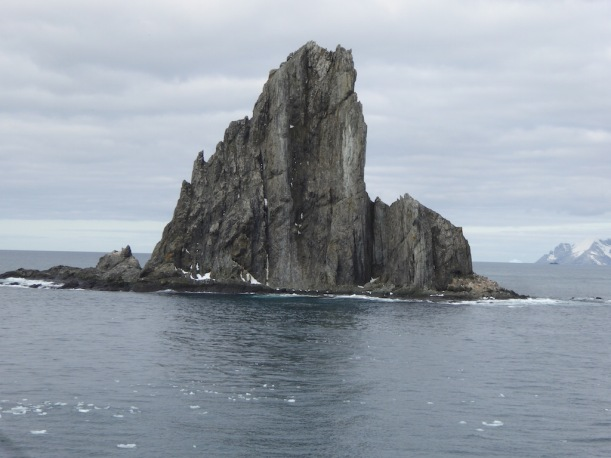 I love this jagged rock.