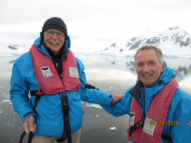 These are my friends in Antarctica.