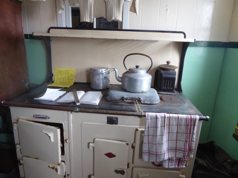 This is the kitchen at Port Lockroy