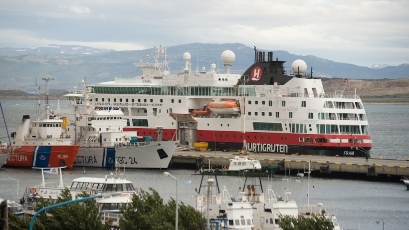 This is photo of our ship, MS FRAM