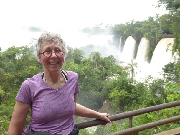 Nancy @ Iguazú Falls
