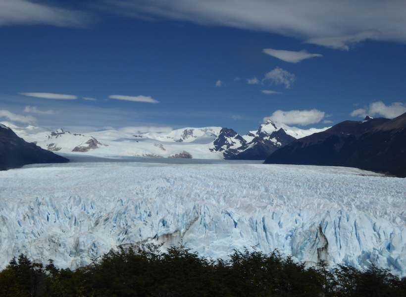This is the north end of Perito Moreno Glacier