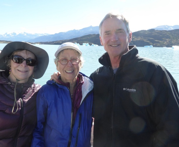 Pat, Nancy, and Andy are on the Catamaran.