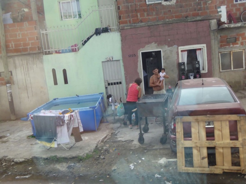 This is a photo of a poor area in Buenos Aires.