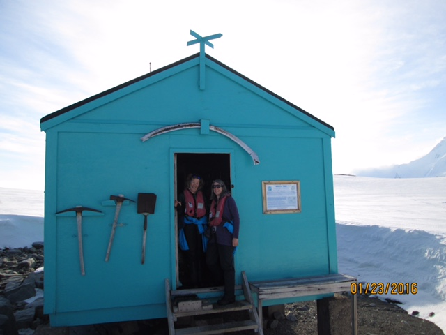 This is the blue hut on Damoy Point.
