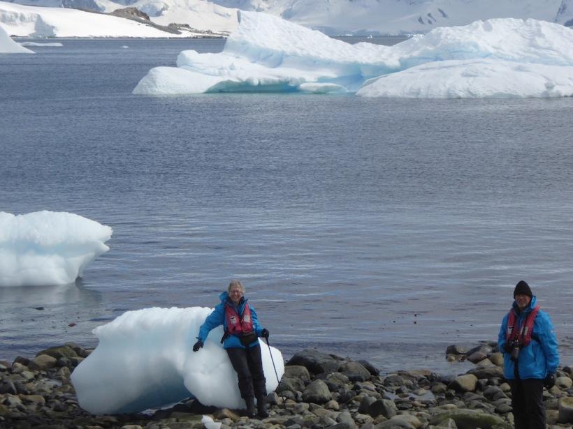 I sat on an iceberg - Cuverville.