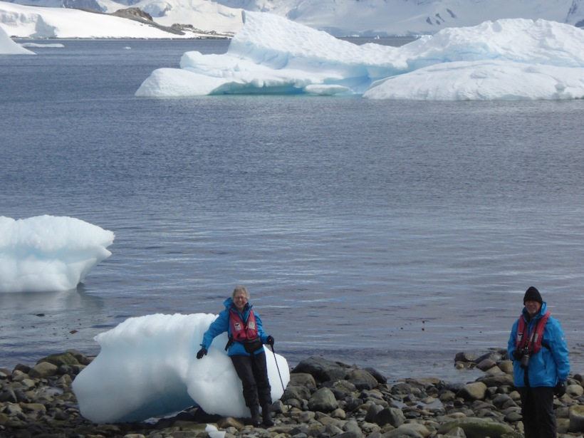 I sat on an iceberg - Cuverville.