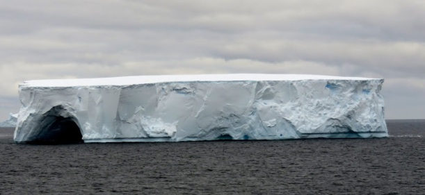 This is a tabular iceberg.