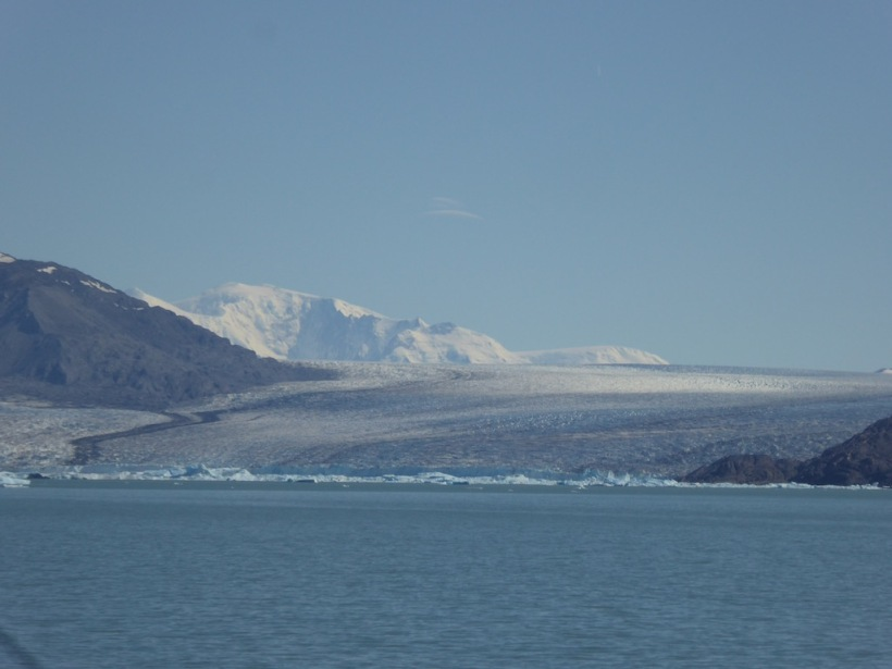 This is Upsala Glacier