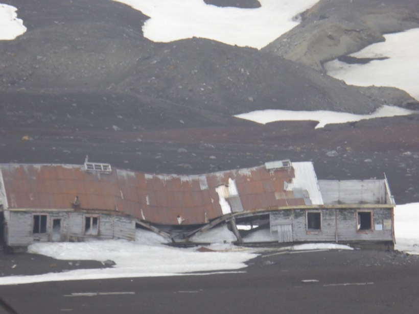 This is part of the abandoned whaling station.