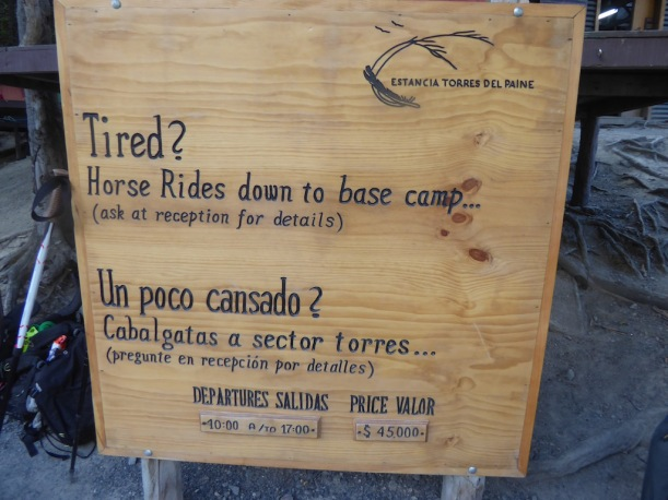 This is a sign about riding horses.